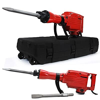XtremepowerUS 2200Watt Heavy Duty Electric Demolition Jack Hammer Concrete Breaker Punch Construction
