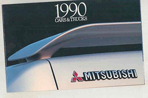1990-mitsubishi-cars-trucks-brochure-eclipse-galant-mirage-montero-sigma