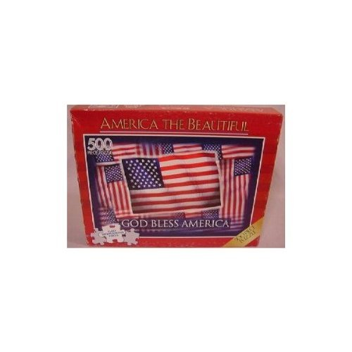 America the Beautiful 500 Piece Puzzle