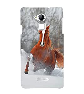Vizagbeats Running Horse Back Case Cover for Coolpad Note 3 Lite