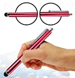 Wayzon RED High Capacitive / Resesitive Spongy Rubber Tip Touch Screen Stylus Pen Suitable For Samsung I5800 Galaxy 3 / I5801 Apollo / I6500U / i740 / i7410