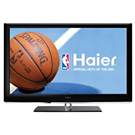 Haier HL46XSL2 Black 46-Inch Ultra Slim LED 1080p 120 Hz LCD HDTV
