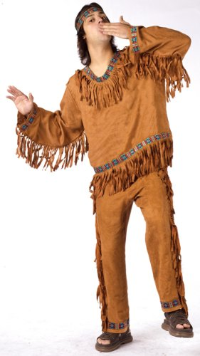 American Indian Man Adult Halloween Costume