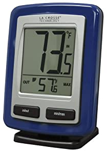 La Crosse Technology WS-9009B-IT Wireless Outdoor Temperature Station with MIN/MAX recorded values