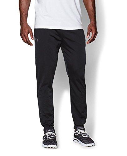 Under Armour Men's Relentless Warm-Up Pants - Tapered Leg, Black (001), XX-Large
