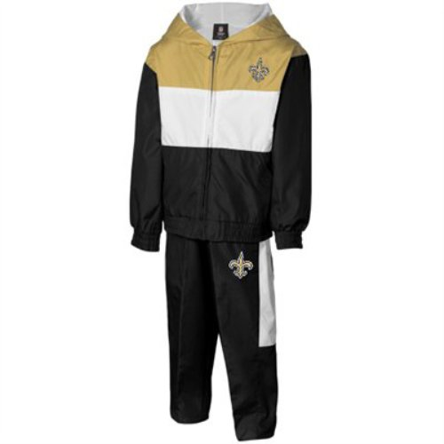 New Orleans Saints Infant Tri-Color Full Zip Hoodie & Pant Set (18 mos) at Amazon.com