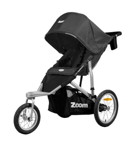 Joovy Zoom 360 Jogging Stroller, Black