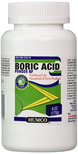HUMCO HOLDING GROUP Boric Acid Powder, 6 Ounce