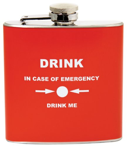 Gentlemen's Club Emergency Hip Flask