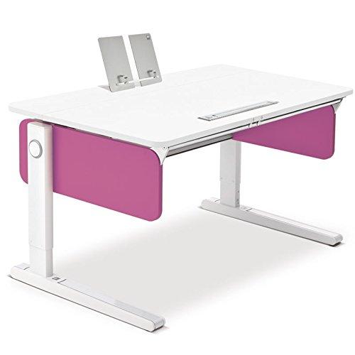 Moll Champion Style Front Up Schreibtisch | pink | 120 x 72 x 53-82 cm (Breite x Tiefe x Höhe) | höhenverstellbar jetzt bestellen