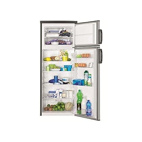 Faure FRT27101XA réfrigérateur-congélateur - réfrigérateurs-congélateurs (Autonome, Acier inoxydable, Placé en haut, A+, SN, ST, Non, 4*)