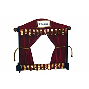 Guidecraft Center Tabletop Puppet Theater