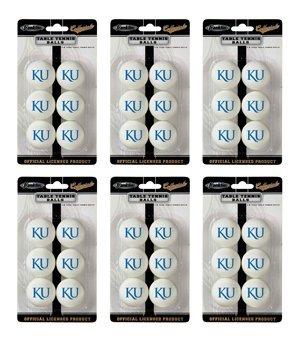 Collegiate Licensed 36 Pack Table Tennis Balls