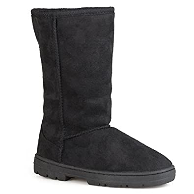 Journee Collection Womens Cold-Weather Lug-Sole Boot