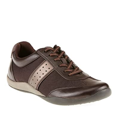 Orthaheel Womens Kate II Lace-Up Shoes Chocolate Size 5