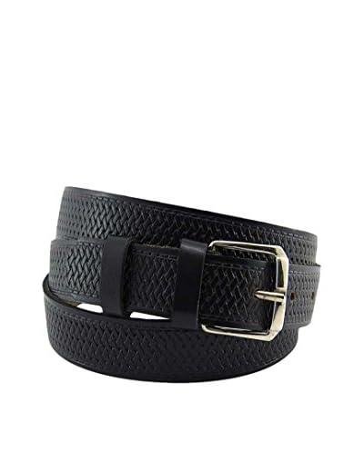 E4 Complementos Cinturón Piel Negro