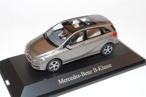 Mercedes-Benz B-Klasse W246 B180 Monolith Grau Ab 2011 1/43 Norev Modell Auto