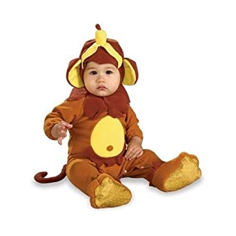 Monkey See, Monkey Do Newborn Romper Costume