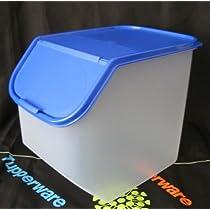 Tupperware Access Mates Large Container. Brilliant Blue
