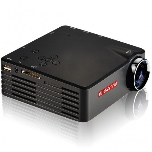 LED Projector G7 / USB - HDMI - VGA - AV -SD CARD