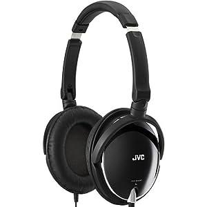 JVC HAS600B Around-the-Ear Foldable Headphone - Black