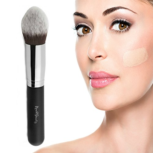Best Concealer and Corrector Makeup Brush - Contouring Stippling Kabuki Tapered Brush (Best Concealer Brush compare prices)