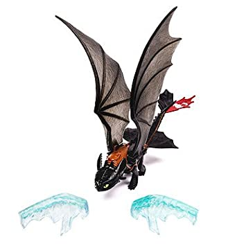 Dragons 2 – Krokmou (Se Libère de la Glace) – Figurine Power Dragon