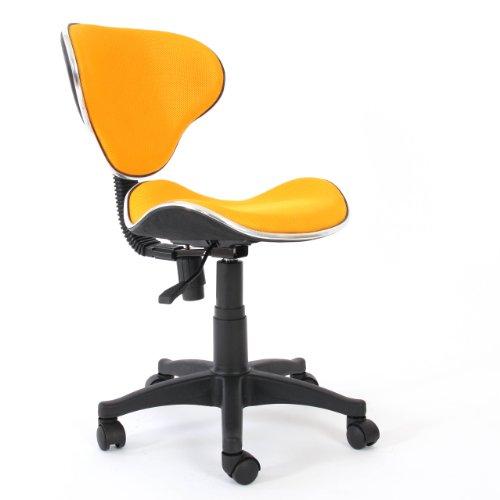 Sedia ufficio anche x bambini genova ii tessuto polyestere for Sedie ufficio genova