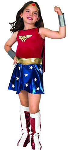 Rubie's IT882312-S - Costume per Bambini Wonder Woman Deluxe, S