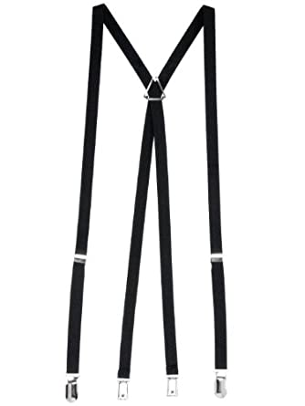 American Apparel Unisex Suspender - Black / One Size