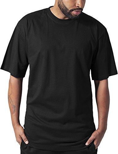 Urban Classics Basic - T-Shirt Alti Da Uomo, Colore Nero, Taglia XXXL