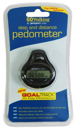 Cheap GO WALKING 340 STEP/DISTANCE GOAL TRACK PEDOMETER (B0072242TE)