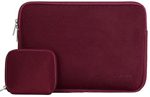 mosiso-water-repellent-neoprene-sleeve-bag-cover-for-13-133-inch-laptop-with-small-charger-case-wine