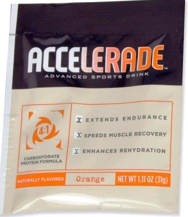 Endurox Accelarade Sports Drink Single Serving Orange, Orange 1 Serving