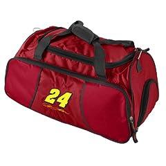 Nascar Jeff Gordon Athletic Duffel Bag by Logo