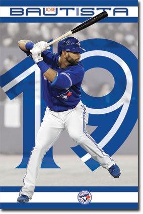 ホセ・バティスタ(トロント・ブルージェイズ) MLB(メジャーリーグ) ポスター