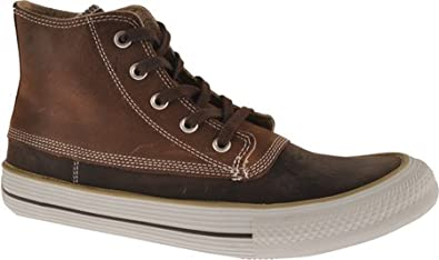 Converse Chuck Taylor Brown Leather Duck Boot Hi Top 2 Prs Laces Men's 5 U.S. Women's Sz 7 U.S.