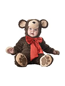 InCharacter Costumes Baby's Lil' Teddy Bear Costume, Brown, X-Small