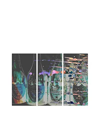 Oliver Gal Dom P Triptych Canvas Art