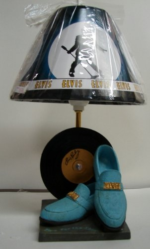 About Prices Of Elvis Blue Suede Shoes Lamp 47443