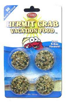 HBH HERMIT CRAB VACATION FOOD
