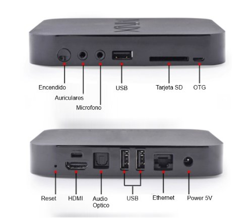 Android 4.1 Tv Set Top Box Iptv Rockchip Rk3066 Dual Core 1gb RAM 16gb ROM Wifi Bluetooth Hdmi Infra Remote Control