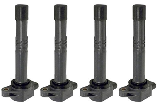 NEW LIFETIME WARRANTY Set of 4 Ignition Coils for Honda Acura 2.4L 2.0L Compatible with C1382 UF311 30520-PNA-007 30520PNA007 (S2000 Coil compare prices)