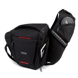 Caden K3 Camera Shoulder Bag Casual Messenger for DSLR Canon-5DMark II, 600D, D600, 7D, 5D2, 60D, 550D; Nikon-D90, D60, D700, D7000, D80, D3100, D800 Sony Olympus
