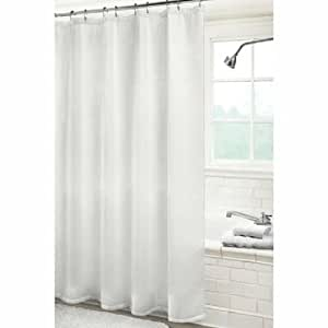 Hotel Collection White Waffle Weave Shower Curtain Kitchen Home