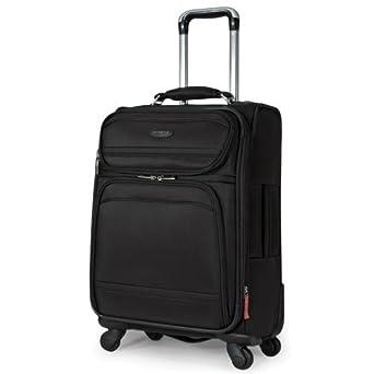 Samsonite Luggage Dkx 21 Exp Spinner Wheeled Suitcase, Black, One Size