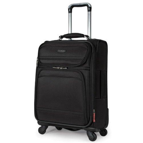 Samsonite Luggage Dkx 21 Exp Spinner Wheeled Suitcase, Black, One Size Image