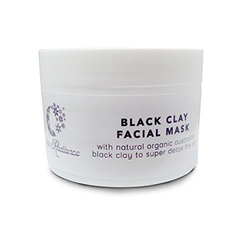Black Clay Facial Mud Mask - Organic