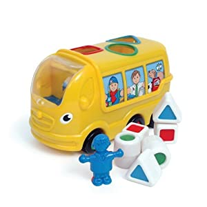 WOW Sidney School Bus - Town (8 Piece Set) by WOW