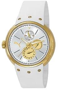 Puma PU102672004 Multifunction Gold White Watch